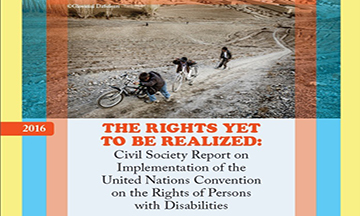 Civil Society Report on Implementation of the United Nations Convention on the Rights of Persons with Disabilities